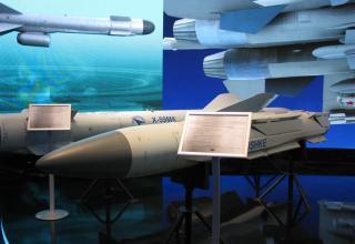 Макет противорадиолокационной ракеты Х-58УШКЭ. ©С.В.Гуров (Россия, г.Тула)