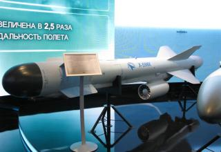 Макет ракеты повышенной дальности класса
