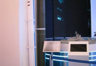 Макет зенитной управляемой ракеты малой дальности Р3В-МД. ©С.В.Гуров (Россия, г.Тула)