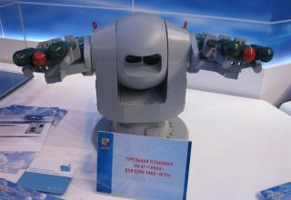 Модель турельной установки 3М-47
