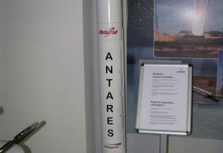 Макет ракеты-носителя ANTARES. ©С.В.Гуров (Россия, г.Тула)