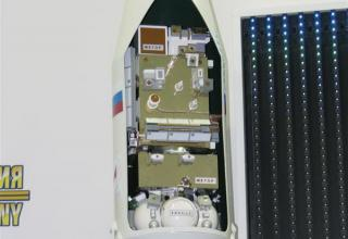 Элемент конструкции макета ракеты-носителя