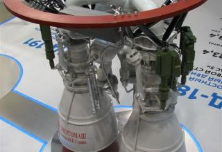 Макет ракетного двигателя РД-180. ©С.В.Гуров (Россия, г.Тула)