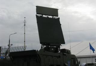 Демонстрационный вариант станции обнаружения целей СОЦ 9С18М1-3Э из состава ЗРК