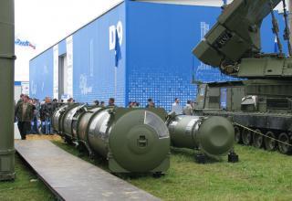Демонстрационные варианты зенитных управляемых ракет из состава ЗРС