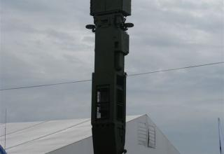 Демонстрационный вариант пусковой установки ПУ 9А83МЭ из состава ЗРС