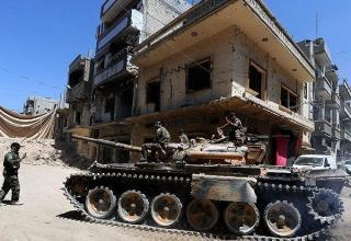 Сирийская армия. Провинция Хомс. Стратегический район. 2013 год. http://english.farsnews.com/imgrep.aspx?nn=13921014001371