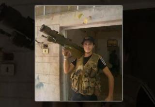 Член террористической ССА с ракетной установкой. Опубл. 08.08.2012 г. http://www.presstv.com