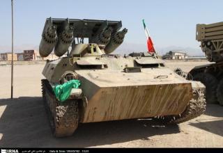 Ракетная установка периода ирако-иранской войны