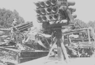 Захвачена у палестинских партизан армией Израиля в 1982 году. Jane's Armour and Artillery 2000-2001. – Р. 769.