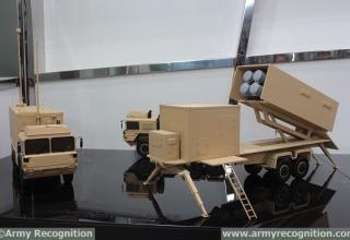 Макет составляющих подразделения для пуска до 4-х ПКР MM40 Block 3. http://www.navyrecognition.com/