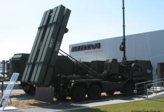 Выставочный образец пусковой установки комплекса ПВО и ПРО MEADS. 20.05.2014 г. ©Tomasz Szulc (Польша).