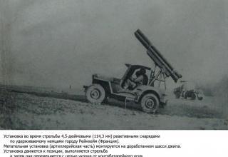 Реактивная артиллерия союзников во Второй мировой войне