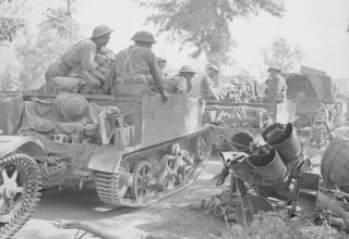 © IWM (NA 15654). Британская армия в Италии. Остатки немецкой установки Nebelwerfer. Около Чепрано. 28.05.1944 г. iwm.org.uk