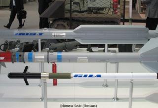 Макеты ракет IRIS-T, LAGS, GILA. ©Tomasz Szulc (Польша).