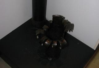 Остатки ракетных камер для установки (боевой машины) М-13. ©С.В.Гуров (Россия, г.Тула).