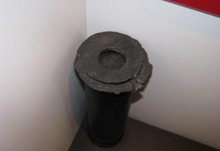Остаток ракетной камеры для установки (боевой машины) М-13. ©С.В.Гуров (Россия, г.Тула).