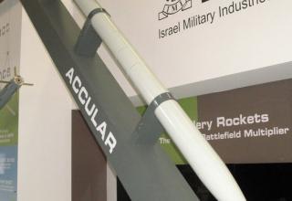 Макет управляемой ракеты ACCULAR (Израиль). ©Tomasz Szulc (Польша).