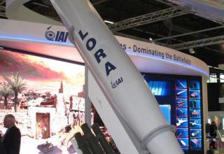 Макет ракеты LORA (Израиль). ©Tomasz Szulc (Польша).