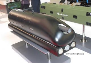 Макет авиационного блока орудий для пуска управляемых авиационных ракет. ©Tomasz Szulc (Польша).