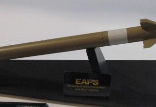Макет ракеты EAPS. ©Tomasz Szulc (Польша)