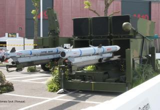 Макеты элементов комплекса NASARM (Норвегия) с макетами ракет AIM-9X Block II от компании Raytheon, США). ©Tomasz Szulc (Польша)
