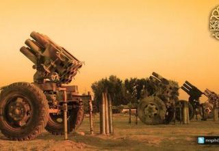 Пять установок Type 63 для пуска ТРС калибра 107 мм Jaish al-Islam. https://malcolmxtreme.wordpress.com/tag/nawa/