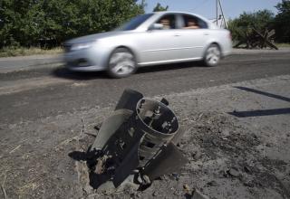 Опубл. 29.07.2014 г. Остaток хвостового блока РСЗО