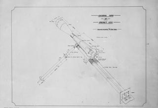 Ракетное орудие. Catalogue number Q 35759 http://www.iwm.org.uk/collections/item/object/205270469