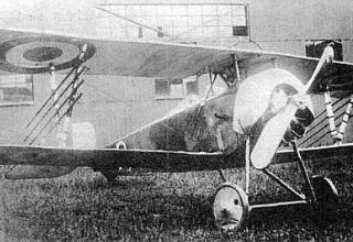 Французский «ракетоносец» типа «Ньюпор-16». 1916г. http://www.retroplan.ru/encyclopaedia.html?sobi2Task=sobi2Details&sobi2Id=833