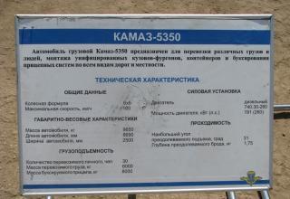 КАМАЗ-5350. ©С.В. Гуров (Россия, г.Тула).