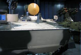 Составляющая самоходного ПТРК