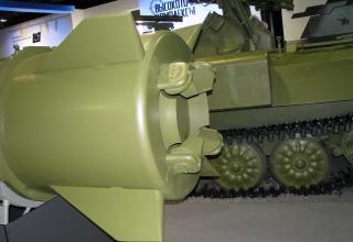 Макет ракеты 9М723К-Э ОТРК