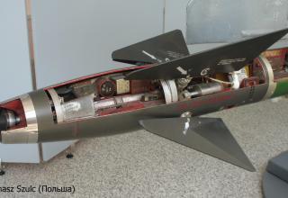 Макет ракеты К-13М. ©Tomasz Szulc (Польша).