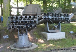 Макеты ПУ WM-18 и РБУ-2500. ©Tomasz Szulc (Польша).