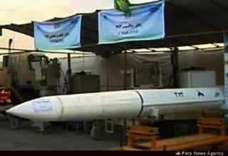 Вид части ЗУР иранского ЗРК Bavar-373. http://english.farsnews.com     29.08.2014 г.
