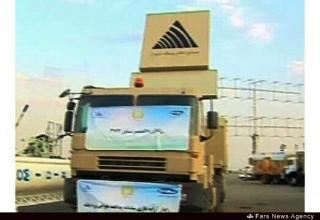 Вид части РЛС ЗРК Bavar-373. http://english.farsnews.com     29.08.2014 г.