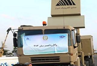 Вид части РЛС иранского ЗРК Bavar-373. http://english.farsnews.com     29.08.2014 г.