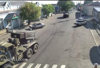 БМ БМ-21-1. http://voicesevas.ru/news/yugo-vostok/4408-voyna-na-yugo-vostoke-onlayn-05092014-hronika-sobytiy.html