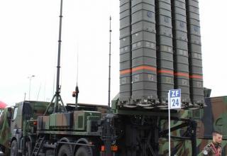 Демонстрационный вариант ПУ французского ЗРК SAMP-T. Фото: Т.Шульц©.