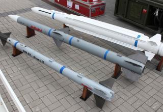 Макеты ракет для норвежско-американского NASAM. Фото: Т.Шульц©.