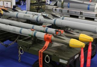 Макеты ракет воздух-воздух: ракеты АIМ-9Х и АIМ-120. Фото: Т.Шульц©.