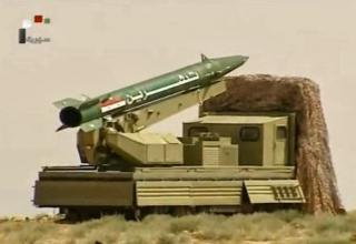Сирийская Fateh 110. http://worldmilitaryintel.blogspot.ru/2013/05/blog-post_8578.html
