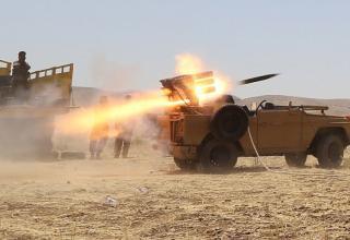 Курдские боевики. Мосул. Ирак. 08.08.2014. http://www.dailymail.co.uk