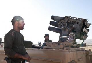 Курдские Peshmerga с БМ около Махмора (Makhmor), Ирак. Опубл. 09.08.2014 г. https://twitter.com