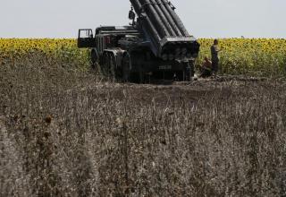 Украинская БМ 9П140 РСЗО