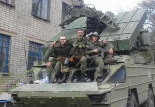 Захваченная БМ ЗРК