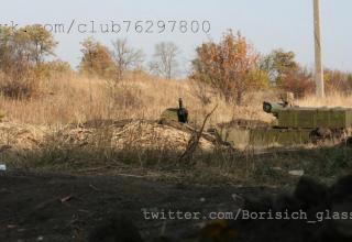 Позиция под Никишино. ПТУР http://voicesevas.ru/news/yugo-vostok/6537-voyna-na-yugo-vostoke-onlayn-31102014-hronika-sobytiy.html