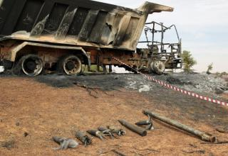 Остаток 122 мм РС. http://www.cbc.ca/news/world/explosives-grenades-found-in-mali-as-extremists-fire-rockets-1.1358949
