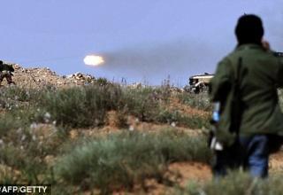 В районе Сирта. http://www.dailymail.co.uk/news/article-1370412/Libya-war-Rebels-attack-Gaddafi-troops-close-Sirte.html